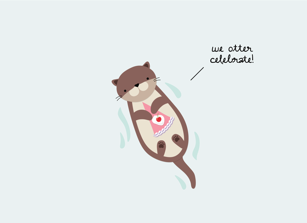 (New) We Otter Celebrate!