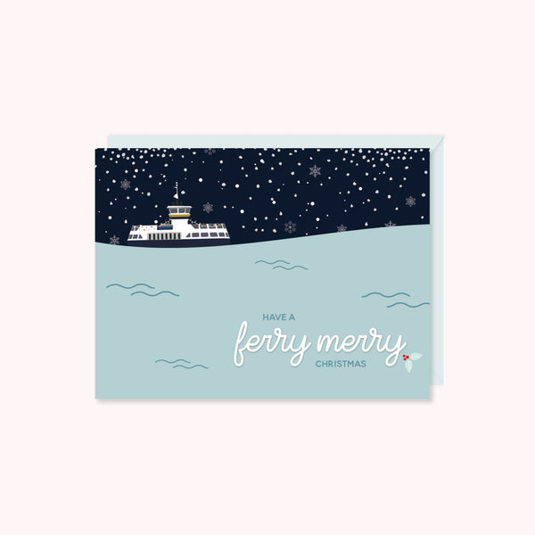 Have a Ferry Merry Christmas