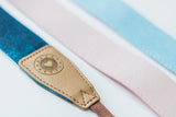 Blushing Denim Camera Strap