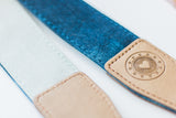 Ocean Waves Denim Camera Strap
