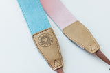 Summer Fields Denim Camera Strap