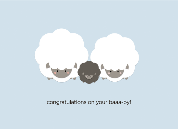 (New): Congratulations on your Baaa-by!