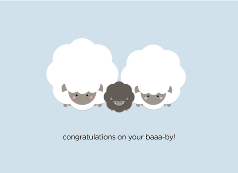 Congratulations on your Baaa-by!
