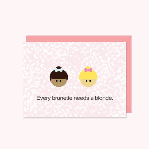 BFF: Every Brunette Needs a Blonde