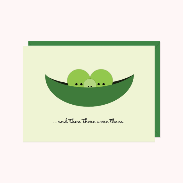 Pea Pod: And Then There Were Three...