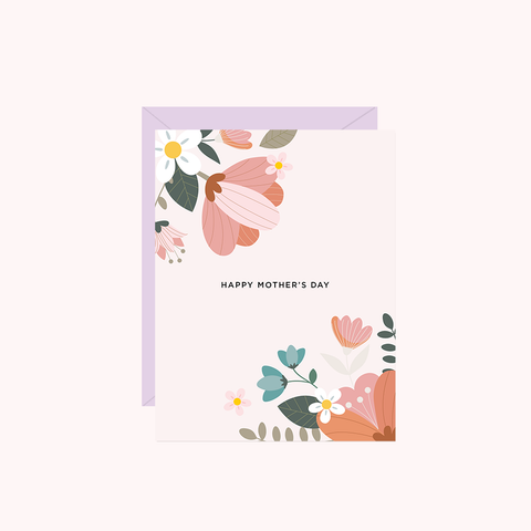 (New) Happy Mother's Day (Blush Floral)
