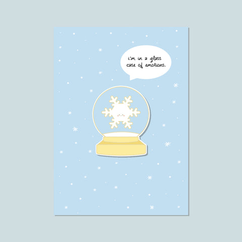 (New) Snow Globe Enamel Pin