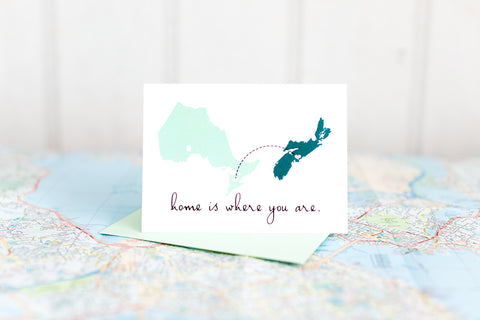 Home is Where You Are (Nova Scotia & Ontario)