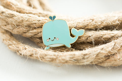 Whaley Cute Enamel Pin