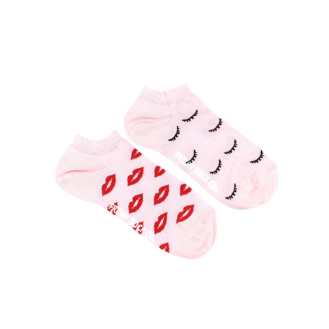 Women's Lips & Wink Ankle Socks
