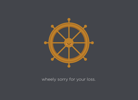 (New) Wheely Sorry For Your Loss