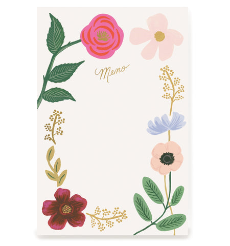 Wildflowers Memo Notepad