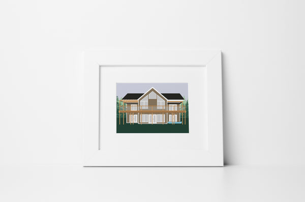 Custom House/Cottage Portrait