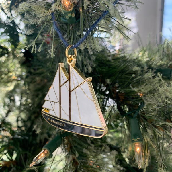 Bluenose Ornament