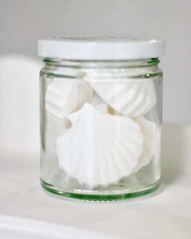 Jar of Organic Shower Steamers