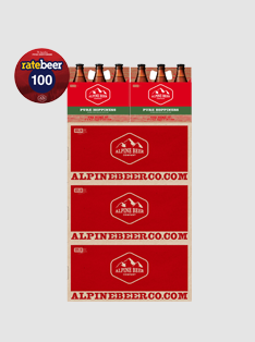 Pure Hoppiness Rate Beer Case Stacker - Print