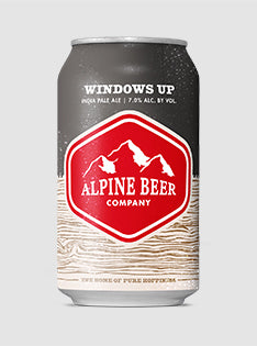 Alpine - Windows Up 12 oz. Can Product Image - Print