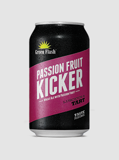 Passion Fruit Kicker 12 oz. Can Product Image - PRINT
