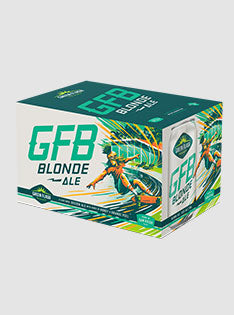 2019 GFB Blonde Ale 12 oz. 6-Packs Cans Photography - Web
