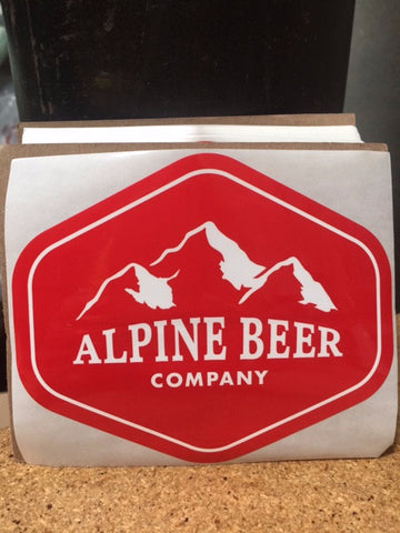 Alpine Beer Company Stickers (100 pack)