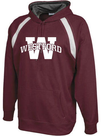 Westford Arched Hooded Performance Sweatshirt / Pennant 151