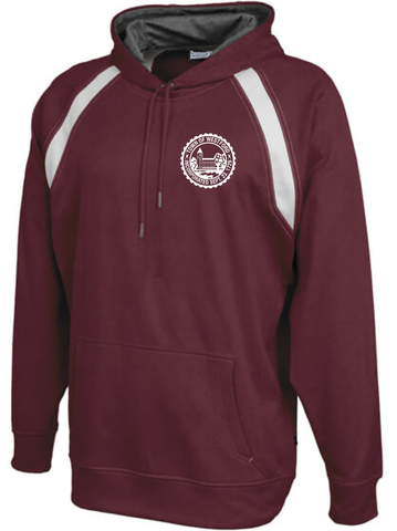 Westford Town Seal Hooded Performance Sweatshirt / Pennant 151