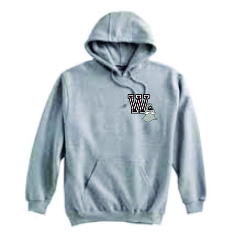 Westford Jr. Ghosts Super 10 Hoodie Grey/ Pennant 701