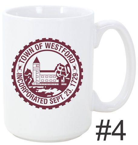 Town of Westford Mug Seal