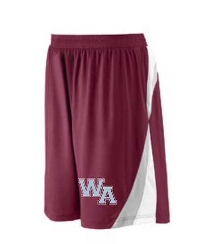 Westford Academy Colorblock Shorts Team 365 TT40