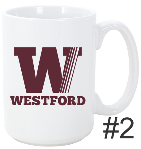 Town of Westford Mug Gradient