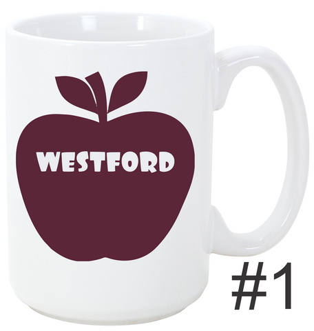 Town of Westford Mug Apple