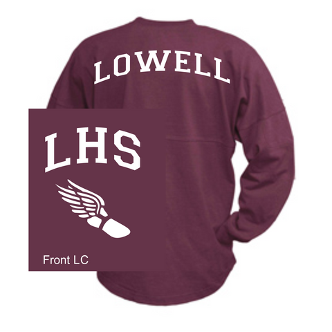 Lowell High Billboard Jersey / Pennant 1001