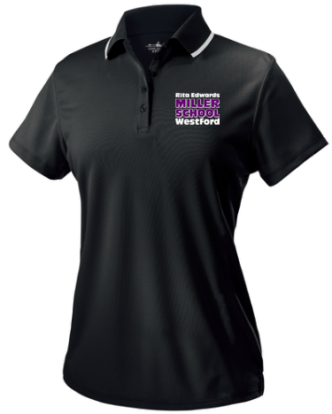 Miller School Women's Classic Wicking Polo / Charles River 2811