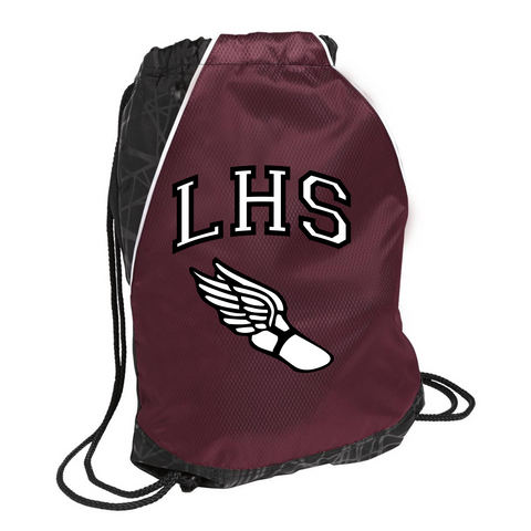 Lowell High Cinch Bag / Sport-Tek BST600