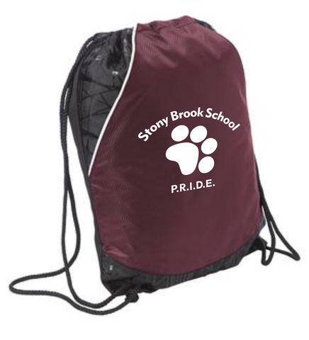 Stonybrook Middle School Cinch Bag / Sport-Tek BST600