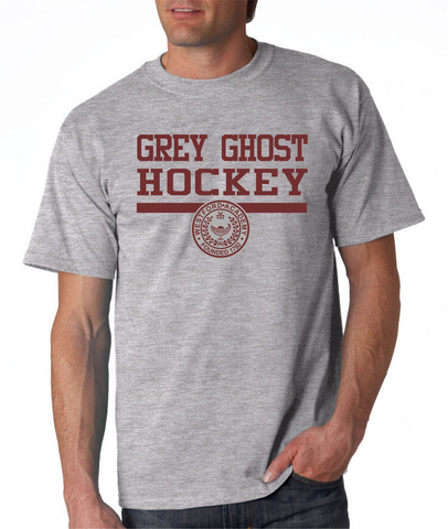 Westford Academy Grey Ghost Hockey Tshirt