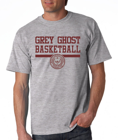 Westford Academy Grey Ghost Basketball Gildan G2000
