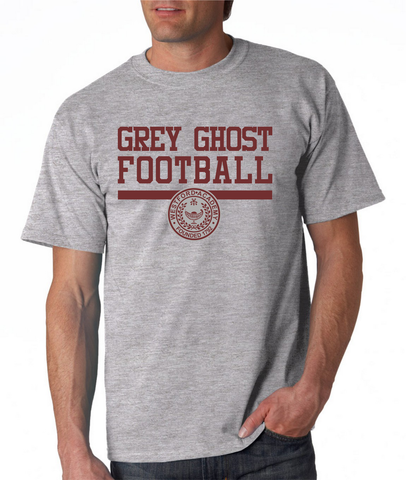 Westford Academy Grey Ghost Football Gildan G2000