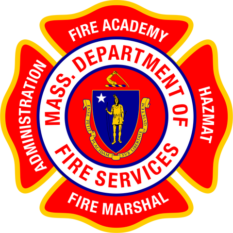 Massachusetts Fire Academy Decal- large
