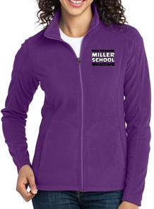 Miller School Ladies Microfleece Jacket / Port Authority® L223
