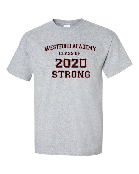 WA Class of 2020 Tee for purchase