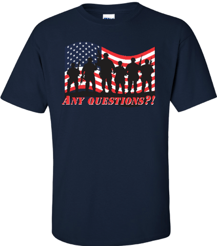 Support Our Troops Ultra Cotton® T-Shirt / Gildan G2000