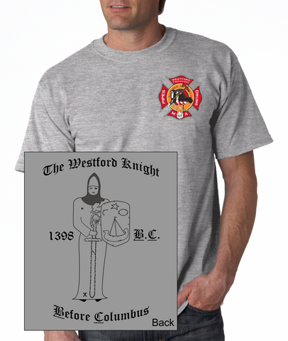 Westford Firefighters Pipe & Drum Corps T-Shirt / Gildan G2000