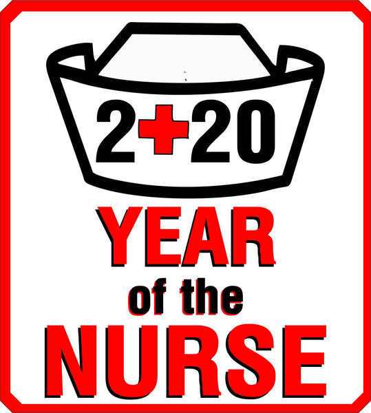 Year of the Nurse Decal