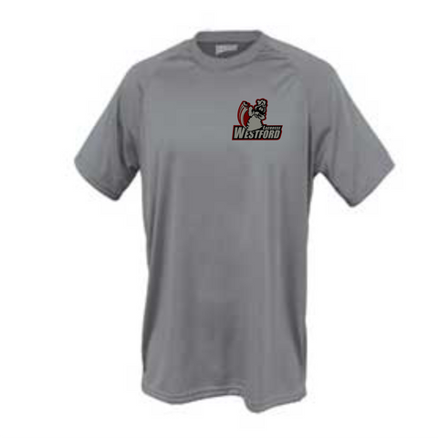 Westford Youth Lacrosse SS Wicking Tee / Pennant 1001