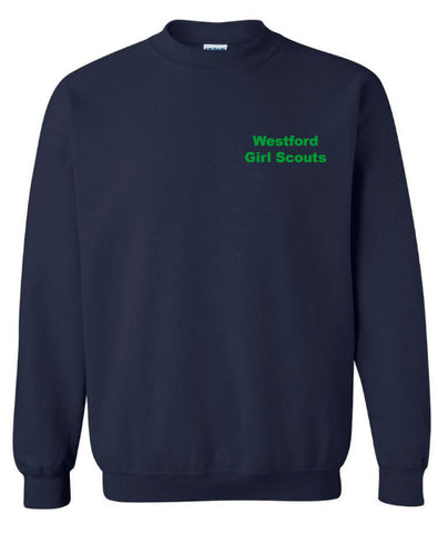 Westford Girl Scouts Crewneck Sweatshirt