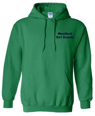 Westford Girl Scouts Hooded Sweatshirt