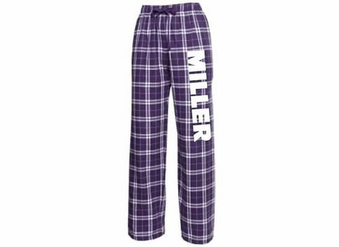 Miller School Flannel Pants / Boxercraft F19-F20