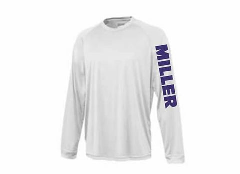 Miller School Power Tee / Pennant 1002-Y1002
