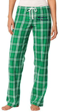 Westford Girl Scouts Flannel Pants